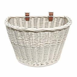 Colorbasket 01570 Adult Front Handlebar Wicker Bike Basket,
