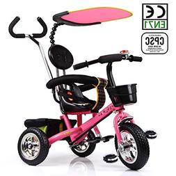 HotOne 023AK 4 In 1 Baby Children Detachable stroller Trike