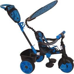4 in 1 Deluxe Trike Neon Blue