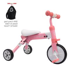 XJD 2 in 1 Kids Glide Tricycles Toddler Tricycle Baby Balanc