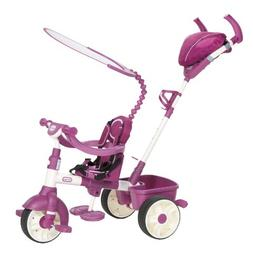 Little Tikes 4-in-1 Trike Ride On Pink/Purple Sports Edition