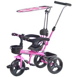 boppi 4 in 1 Childrens Trike Tricycle 9-36 Months - Pink