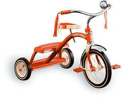 12-Inch Classic Red Tricycle