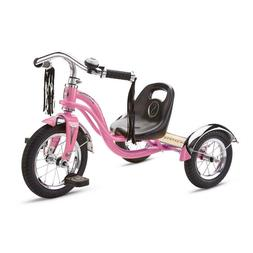 12 Inch Trike Pink Adjustable Sculpted Seat Chrome Finish Ha