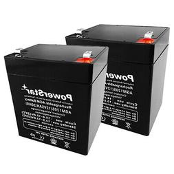 12V 5AH SLA Battery Replacement for Razor PowerRider 360 Ele