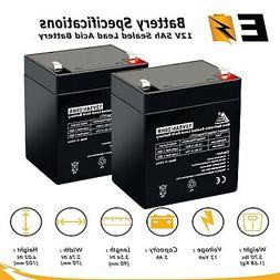 12V 5AH SLA Battery Replacement for Razor PowerRider 360 Ele