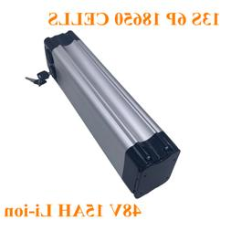 48V 15AH 18650 Li-ion Battery Aluminum Case BMS 3A Charger R