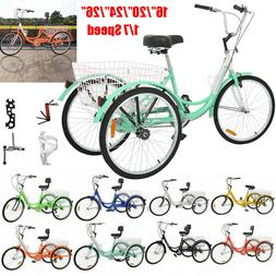 adult tricycles 1 7 speed 3 wheel