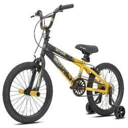 "18"" Kids Bike Boys 18-inch Wheels Bicycle with Training Whee"