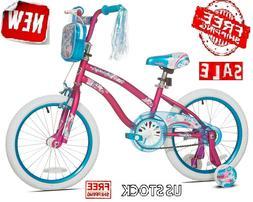 "18"" Kids Bike Girls Bicycle Sidewalk 18-inch Training Wheels"