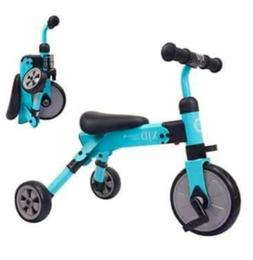 XJD 2 in 1 Kids Tricycles for 2-4 Years Old Boys Girls Kids