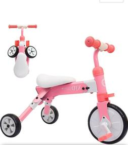 2 in 1 kids tricycles for 2