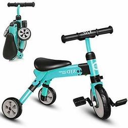 2 In 1 Kids Tricycles For Years Old And Up Boys Girls 2DAY S