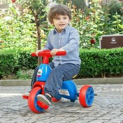 2 in 1 Toddler Tricycle Balance Bike Scooter Kids Riding Toy