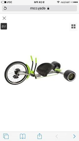 "Huffy 20"" Inch Green Machine Thrill Ride On Tricycle Trike G"