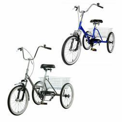 Mantis Tri-Rad Adult Folding Tricycle Bike Bicycle Portable