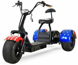2000W 60V 20AH GOLF Cart Electric Mobility Scooter 3 Wheel T