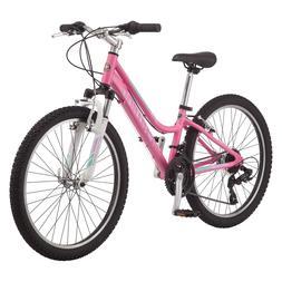 2018 SCHWINN Ranger Pink Girl's Mountain Bike, 24 IN, Brand