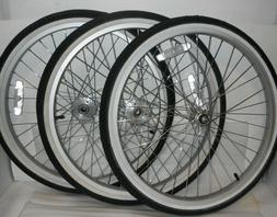 """24"""" Wheelset for Adult Tricycle Trike Rims"""