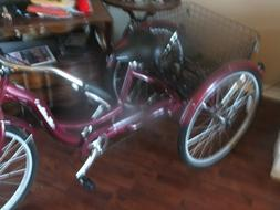 "26"" Adult  Schwinn Meridian Tricycle Bike - Never Ridden"