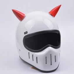 2x Helmet Horns Devil Angel Horns Suction Cup Stick On Horns