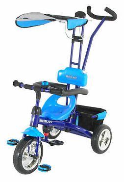 Vilano 3 in 1 Tricycle Learn to Ride Trike Steer Stroller