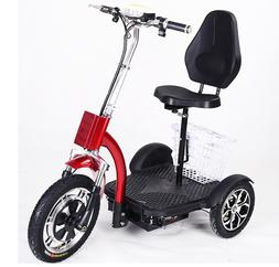3 Wheel Electric Tricycle 48V 500W Electric Scooter For Adul