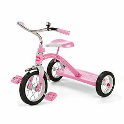 Radio Flyer 34GX Kids Classic Steel Framed Tricycle with Han