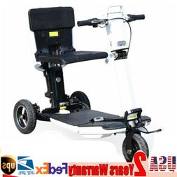 350W Portable Tricycle Folding Adult Electric Scooter High S