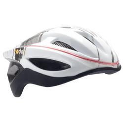 Mobo Cruiser 360 LED Helmet, Grey/White, Small/Medium