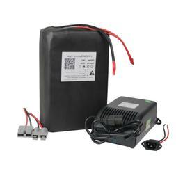36v 20Ah Ebike Battery LiFePO4 Lithium for 500W Motor Golf C