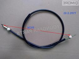 "37"" fork end double threaded speedometer cable for <font><b>"