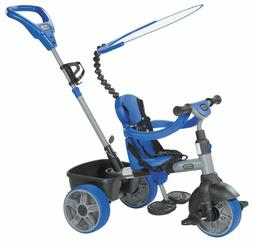 4 in 1 ride on blue basic