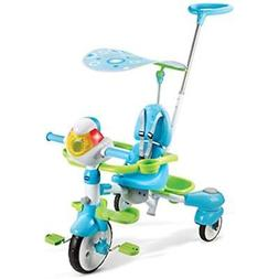 VTech 4-in-1 Stroll & Grow Tek Trike Kids Tricycles Bikes Re