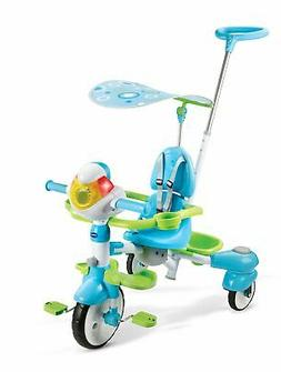 VTech 4-in-1 Stroll  Grow Tek Trike Kids Tricycles Bikes Rec