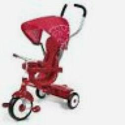 4-in-1 Stroll to trike bright red to grow with your child UV