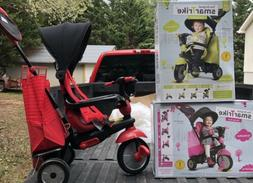 4 in 1 Stroller Tricycle Trike Ride smarTrike Swing DLX 4 Re