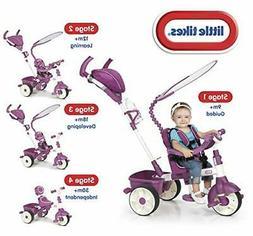 Little Tikes 4-in-1 Trike Ride On, Pink/Purple, Sports Editi
