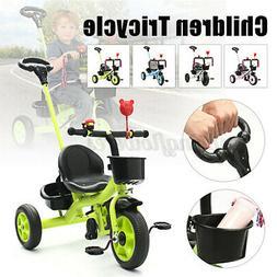 4 in1 3 Wheels Baby Children Toddler Walker Kids Trike Tricy