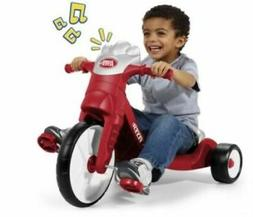 Radio Flyer 402 Radio With Lights and Sounds Tricycle - Red