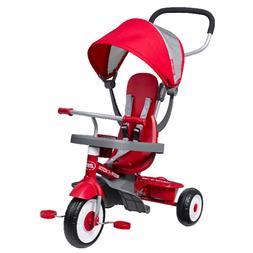 Radio Flyer 481 4-in-1 Stroll 'N Trike Tricycle - Red