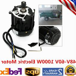 48V-60V 1000W Electric Motor Brushless Motor Electric tricyc
