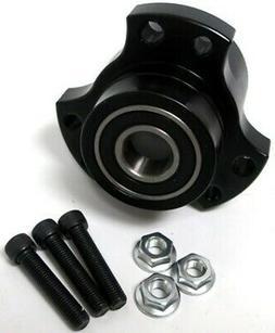 """5/8""""-3/4"""" Black Front Wheel Hub 5/8"""" Bearing Go Kart Min"""