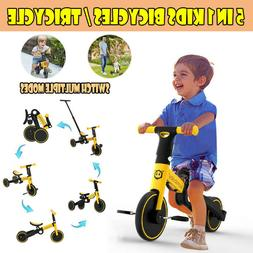 5 in 1 Baby Kids Tricycle Bike Trike Play Sports Activity Sw