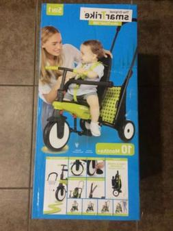 SmarTrike 5 in 1 Green Folding Ride On Tricycle SmarTfold 30