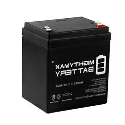 Mighty Max Battery 12V 5AH SLA Battery Replacement for Razor