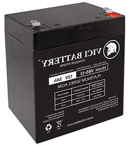 VICI Battery 12V 5AH SLA Battery Replacement for Razor Power