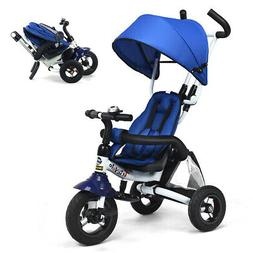 6-In-1 Kids Baby Stroller Tricycle Detachable Learning Toy B