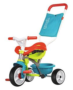Smoby 740401 Push Along Trike Tricycle, Blue