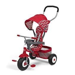 Radio Flyer All-Terrain Stroll 'N Trike Stroller Trike, Red